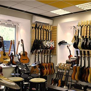 Музыкальные магазины Рамони